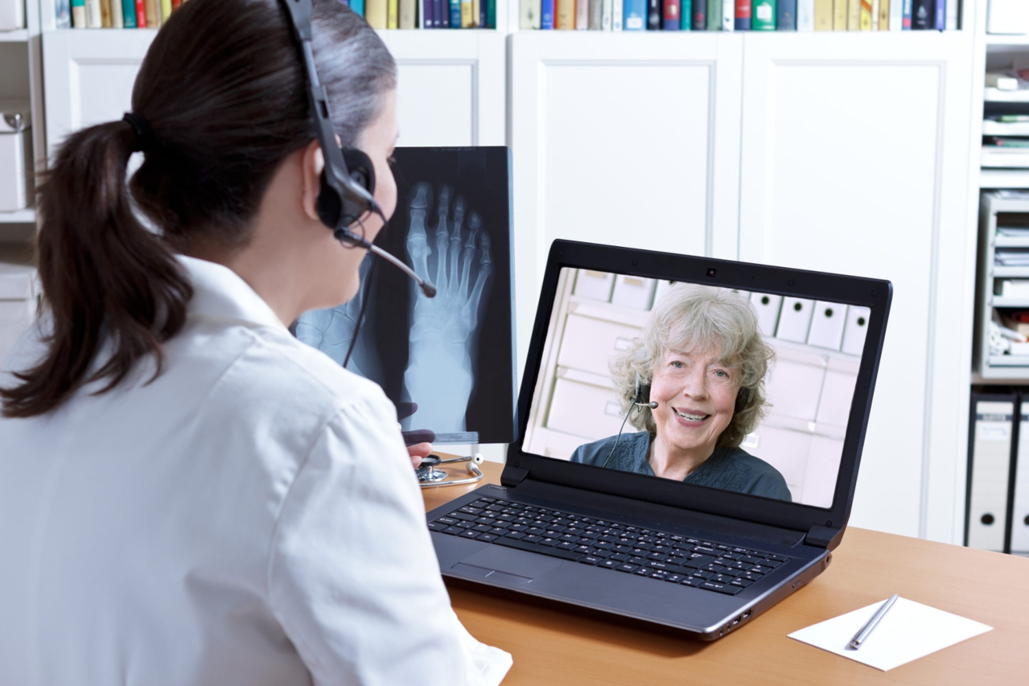 Telehealth with Microsoft Teams | Remote Treatment in a Face-to-Face Industry