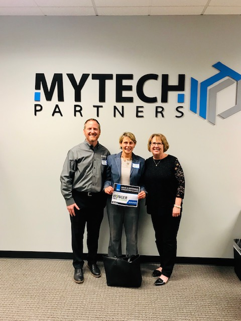Hunger Free Colorado wins the Mytech Partners Make A Difference Community Partner Grant worth up to $250K