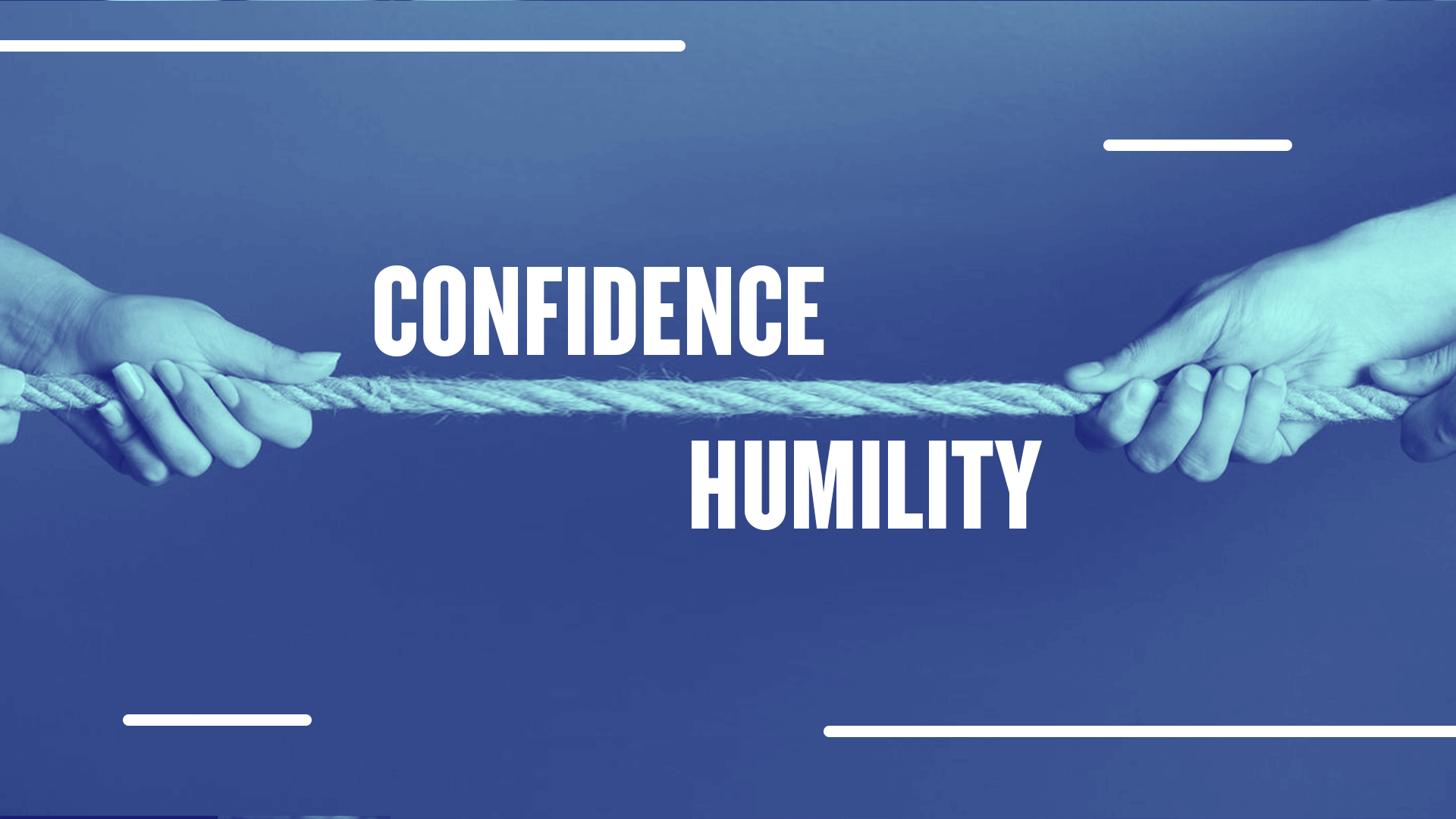 Scale of Confidence vs. Humility