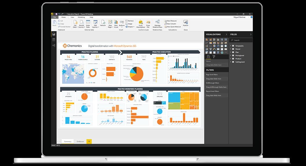 Visualize Metrics & Key Performance Indicators | The Basics of Microsoft Power BI