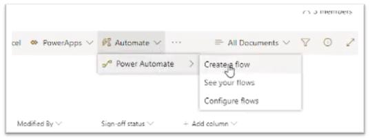 screenshot - create a flow