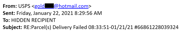 Example 2 email header