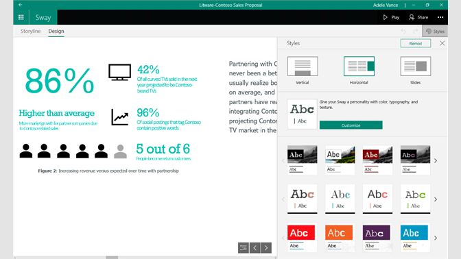 Microsoft Sway | Build Interactive & How-To Presentations that Don't Require a Presenter!​