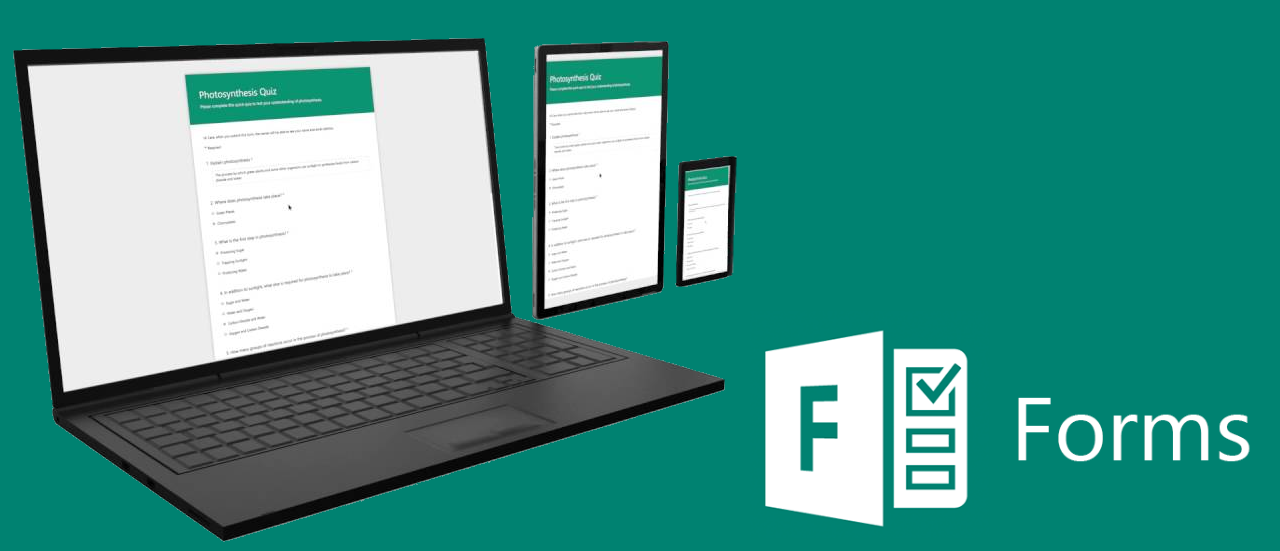 Digitize, Manage, and Analyze Your Team's Important Information with Microsoft Forms​